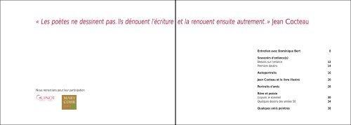 Jean Cocteau - Galerie BERT