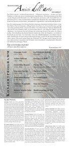 Tanz der Stunden - Kammerorchester «Amici dell'arte - Seite 2