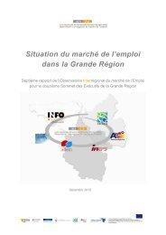 situation du marché - Grande Région