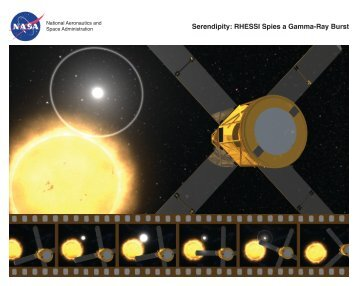 Serendipity: RHESSI Spies a Gamma-Ray Burst - Center for Science ...