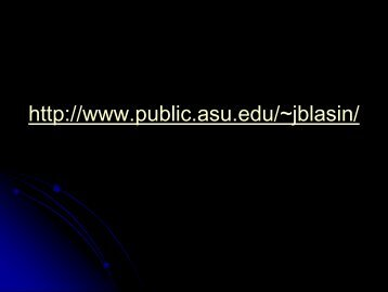 IRA Minneapolis 2009 - Arizona State University