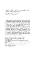 Comparison of Euler-Euler and Euler—Lagrange methods ... - cerfacs