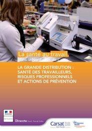 La grande distribution - Ministère du Travail, de l'Emploi et de