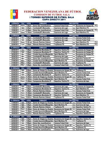 federacion venezolana de fútbol - II Torneo Superior de Futsal
