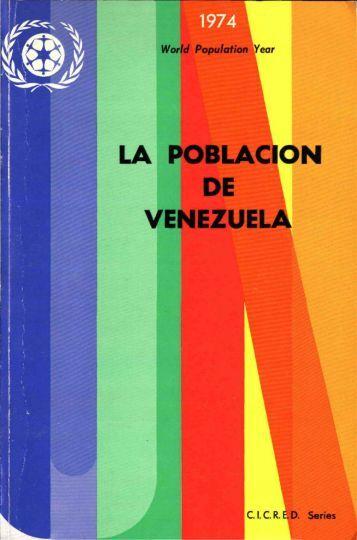 LA POBLACIÓN DE VENEZUELA - CICRED