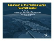 Expansion of the Panama Canal: Potential Impact Expansion of the ...
