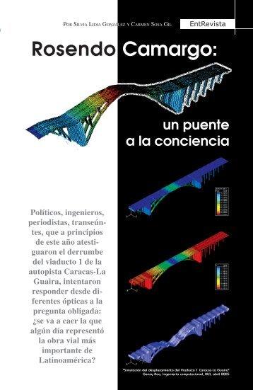 Rosendo Camargo: - Saber ULA