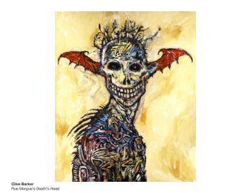 Clive Barker Rue Morgue's Death's Head