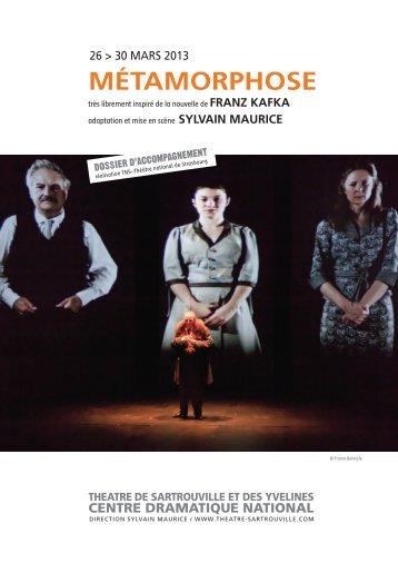 télécharger le dossier d'accompagnement - Théâtre de Sartrouville