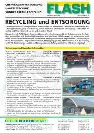 RECYCLING und ENTSORGUNG - Thommen Furler AG