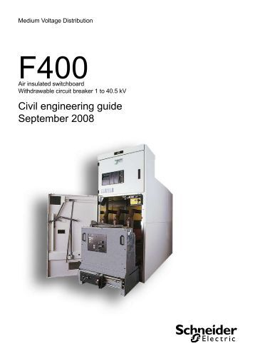 Fluair 400 civil engineering guide - Schneider Electric