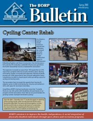 Spring 2010 Newsletter - Bay Area Outreach and Recreation Program