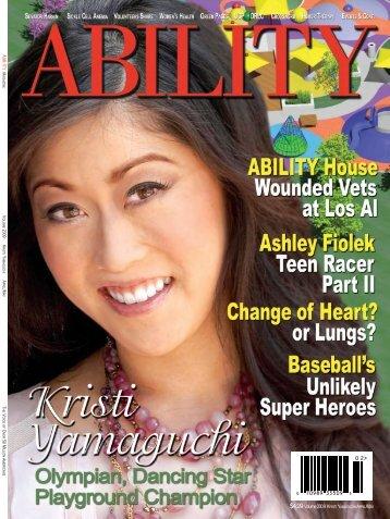 Kristi Yamaguchi Issue - ABILITY Magazine