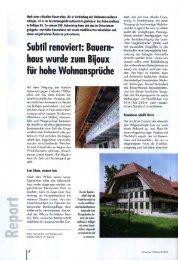 Report - Althaus Architekten Bern AG