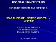 parálisis del nervio cubital.