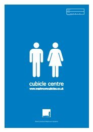 Cubicle Centre Ltd - Toilet Cubicles & Washroom Systems
