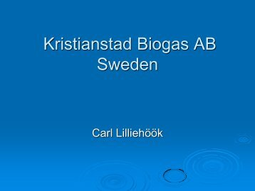 Kristianstad Municipal Waste Management and Biogas Companies