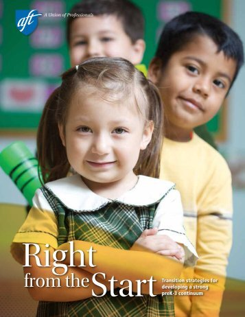 Right From the Start - American Federation of Teachers
