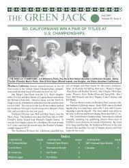 Issue IV Vol 4.indd - Southwest Lawn Bowls Association