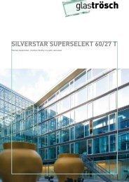 Broschüre SILVERSTAR SUPERSELEKT 60/27 T - Glas Trösch