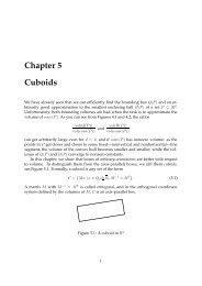 Chapter 5 Cuboids
