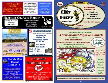 Edition 7 - The City Buzz Magazine