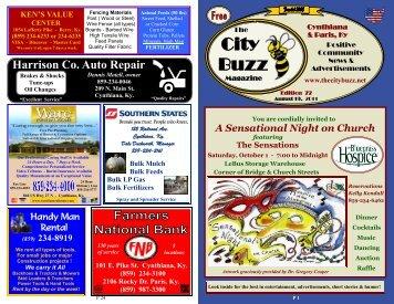 Edition 7 - The City Buzz Magazine