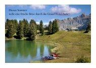 Das ganze Programm - Grand Hotel Park - Gstaad