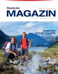Illwerke VKW Magazin - September 2011 D