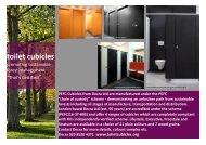 Decra PEFC sustainable cubicle range - Decra Ltd