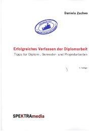 Erfolgreiches Verfassen der Diplomarbeit - NLP Akademie Schweiz
