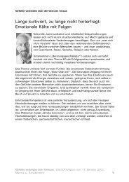 SONDERAUSGABE Emotionale Intelligenz - Schildknecht Coaching