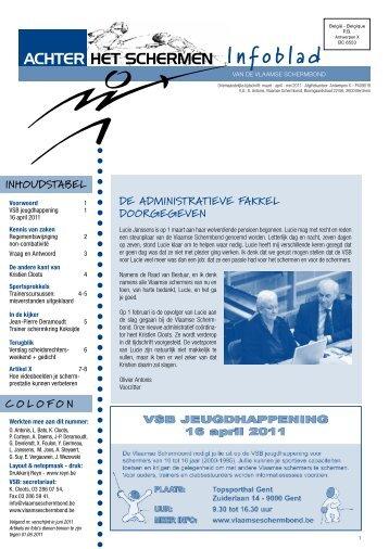 Infoblad - Vlaamse Schermbond
