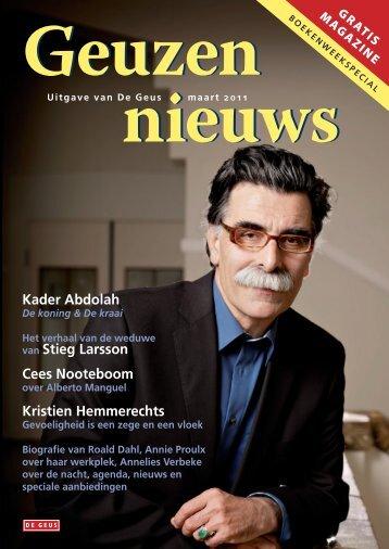 Kader Abdolah van Stieg Larsson Cees Nooteboom Kristien ...