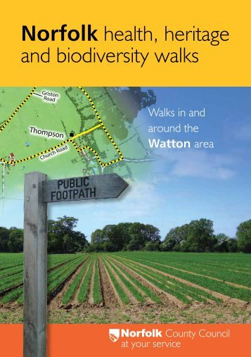 Norfolk health, heritage and biodiversity walks - Enjoying the Norfolk ...