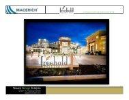 Food Court Tenant Design Criteria - Macerich