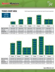 tennis court area - Tennis Court Resurfacing Products and Sports ...