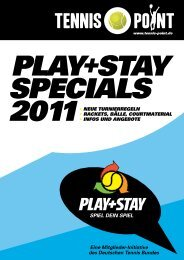 PLAY+STAY Specials 2011 - Deutscher Tennis Bund