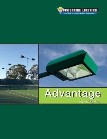 Advantage Tennis Brochure Use 020907 - Visionaire Lighting, LLC