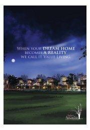 Project Leaflet- insert - Luxury Villas