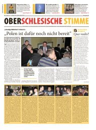 """""""Polen ist dafür noch nicht bereit"""" - DFK Schlesien"""