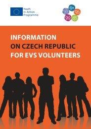 information on czech republic for evs volunteers - Mládež v akci