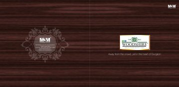 Woodshire brochure final for web - M3M Woodshire