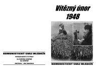 Vítězný únor 1948 - Komunistický svaz mládeže