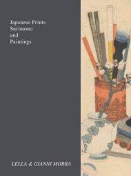 Japanese Prints Surimono and Paintings