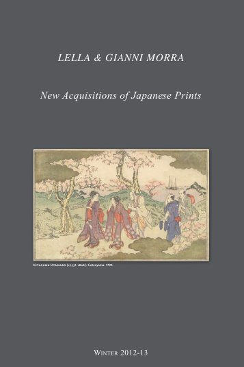 New Acquisitions of Japanese Prints LeLLa & Gianni Morra
