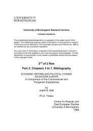 eTheses Repository - University of Birmingham