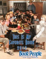 This Is My Favorite Book 2012 - BookPeople