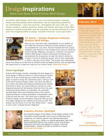 Home featured in savannah magazine interstate auction for California home and design magazine