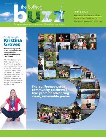 Kristina Groves - Bullfrog Power